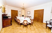 Vintage style dining room — Stock Photo