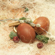 Happy Easter scene — Stock Photo