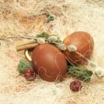 Happy Easter scene — Stock Photo