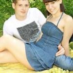 Couple on a picnic — Stock Photo #10538651