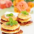 Pancakes with the honey — Stock Photo #8321638