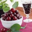 Still life from cherries — Stock Photo