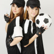 Soccer coaches — Stock Photo
