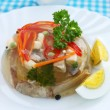 Beef  aspic — Stock Photo
