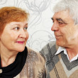 Elderly pair — Stockfoto