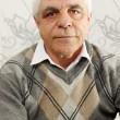 Stock Photo: Old man