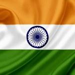 India waving flag — Stock Photo #10224457