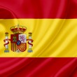 Spain waving flag — Stock Photo #10224704
