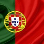 Portugal waving flag — Stock Photo #10224712