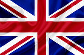 Great Britain waving flag — Foto Stock