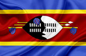 Swaziland waving flag — Stock Photo