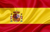 Spain waving flag — Stock Photo
