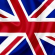 Great Britain waving flag — Stock fotografie #10259582
