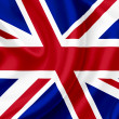 Great Britain waving flag — Stock Photo #10259582