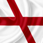 England waving flag — Stock Photo