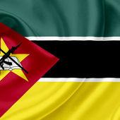 Mozambique waving flag — Stock Photo