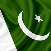 Pakistan waving flag — Stock Photo