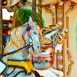 Stock Photo: Carousel - Fair conceptual background with horses