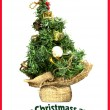Christmas greeting card — Stock Photo #8523900