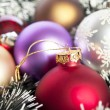 Christmas decoration - Christmas background — Stock Photo