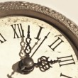 Vintage clock close-up — Stock Photo #8524607