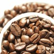 Royalty-Free Stock Photo: Coffee beans close up