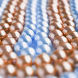 Abstract pearls macro shot — Stock Photo
