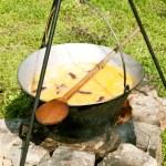cocción de los alimentos — Foto de Stock
