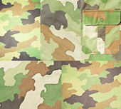Collection of army and military backgrounds and textures — Stock Photo