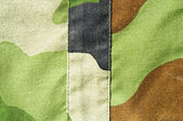 Army uniform detail — Stock Photo