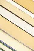 Stack of books - texture — Stock Photo