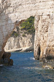 Cliffs on Zakynthos island — Foto de Stock