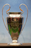 BELGRADE - SERBIA October 16 :UEFA Champions League Trophy Tour — Stock Photo