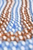 Abstract pearls macro shot — Stock Photo
