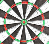 Dartboard background — Stock Photo