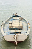 Traditional Greek village fishing boat — Stock Photo