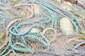 Fishing net close-up — Stock Photo