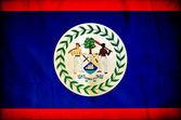 Belize grunge flag — Stock Photo