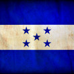 Honduras grunge flag — Stock Photo