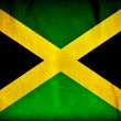 Jamaica grunge flag — Stock Photo