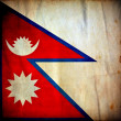 Royalty-Free Stock Photo: Nepal grunge flag