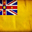 Niue grunge flag — Stock Photo #8534093