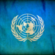 United Nations grunge flag — Stock Photo #8536639
