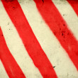Grunge background with red and white stripe pattern — Stock Photo #8539245