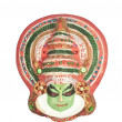 Colorful Indian mask isolated on white — Stock Photo