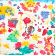 Kid's artwork colorful background — Stock Photo