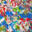 Abstract colorful painting background — Stock Photo