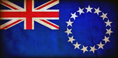 Cook Islands grunge flag — Stock Photo