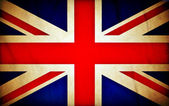 Great Britain grunge flag — Foto Stock