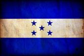 Flaga ilustracja honduras — Zdjęcie stockowe